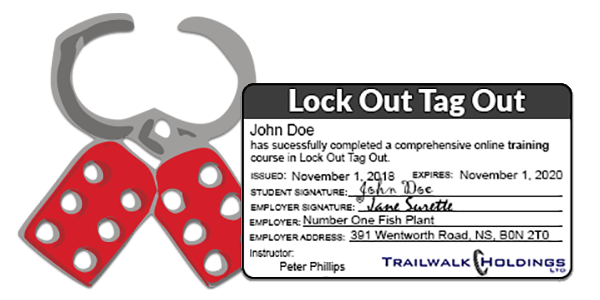 Lock Out Tag Out Online Training - MyLMS - Learning Management System