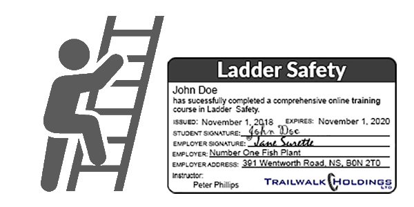 Ladder Safety - MyLMS - Learning Management System