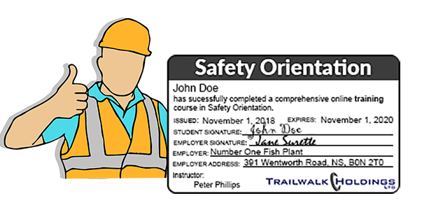 Safety Orientation Online Training - MyLMS - Learning Management System